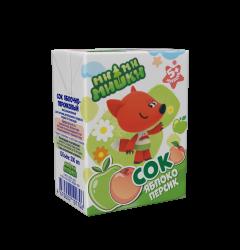 Сок яблочно-персиковый