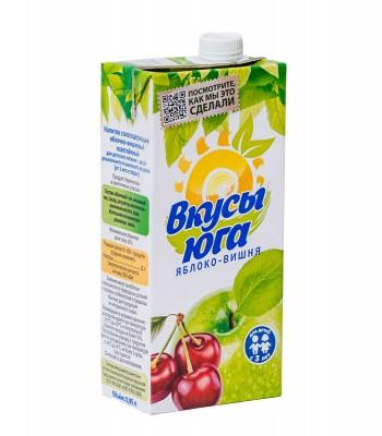 Сокосодержащий напиток яблочно-вишневый осветленный