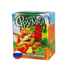 Сок яблочно-шиповниковый осветленный